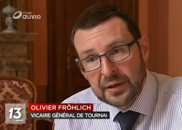 Vicaire general Olivier Frohlich